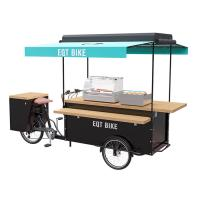 Best Multifunction Scooter Food Cart For Commercial Center / Cinema Street wholesale