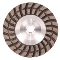 China Double Turbo Row Diamond Grinding Disc For Concrete / Porcelin Tiles / Masonry on sale