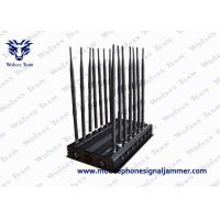 Buy cheap Full Bands GPS Signal Blocker , Remote Control Mobile phone Signal Jammer from wholesalers