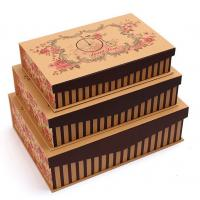 Best Magnetic Grey Board Apparel Gift Boxes With Silk Cloth Covering , Tie / Perfume / Jewelry Boxes wholesale