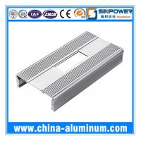 Cheap Aluminium Profile with Bending Drilling Punching for Trolley Case for sale