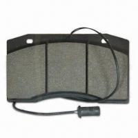 Cheap Brake Pad for Iveco, Stable Brake Performance and Excellent Shear Cut Strength for sale