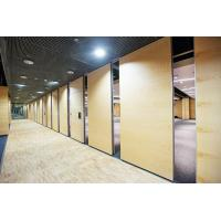 Best Acoustic Movable Room Divider Folding Partition Walls For Hotel , Meeting Room wholesale