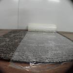 Protective Carpet Film ,Printable ,Transparent Polyethylene, Rubber glue