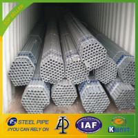 Best Q195 /Q235 Chinese manufacturer hot dipped galvanized steel pipe wholesale
