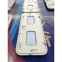 Best Marine Singe Leaf Aluminum Weathertight Door With Stainless Steel Accessories wholesale