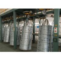 China 1.8-4.5mm Iron Wire Production Line , Hot Dip Galvanizing Line High Tensile Strength on sale