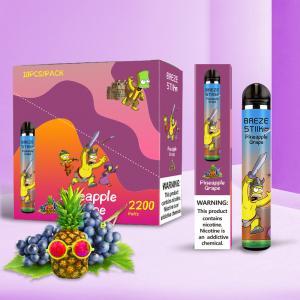 Best FDA CE Disposable Vape Pen Pods 2200 Puffs 6.0ml Smoking Vapor Cigarettes wholesale