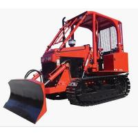 Buy cheap EPA 35Hp Mini Bulldozer Agricultural Farm Crawler Tractor Track with Blade from wholesalers