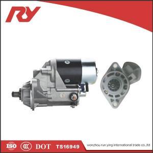 Best ISUZU Diesel Engine Nippondenso Starter Motor 6HE1(128000-8064) 24v 4.5kw 11t wholesale
