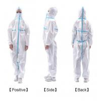 PP Disposable Medical Protective Clothing Non Woven Skin Friendly