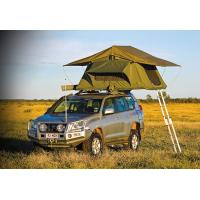Best Customized Pop Up Roof Top Tent , Aluminum Pole Roof Rack Mounted Tent wholesale