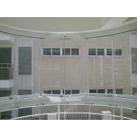 Best 2.0mm, 3.0mm thickness white, champagne frameless folding window with tempered glass wholesale