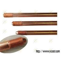 China Copper clad ground rod on sale