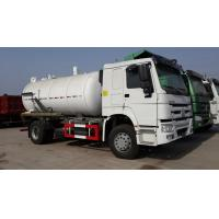 China Jetting And Vacuum Sewage Suction Tanker Truck , Sewage Sucking Truck Combined on sale