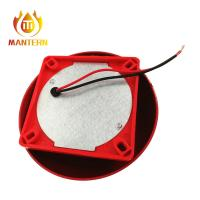 China 150mm 6 Conventional Fire Alarm Bell , Fire Fighting System Equipment Red Color on sale