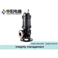 Best 0.75-315KW Stainless Steel Sewage Centrifugal Pumps , Sewage Discharge Pump wholesale