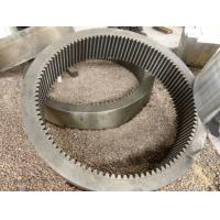 ASTM A290 Type G Class 1 Class G Forged Forging Steel Drum Pinion Reducer pinion Bull Gear Rims Countershaft