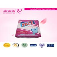 Best Famous Brand Disposable Female Menstrual Cotton Sanitary Napkin ISO 9001:2008 / SGS Approval wholesale