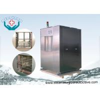 Best 304 Material Chamber Pharmaceutical Autoclave With User Friendly PLC Control System wholesale