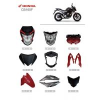 Best Motorcycle Series Accessories Headlamp Assembly Protective Cover Parts Honda CB160F wholesale