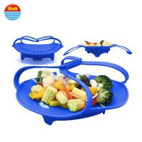 Buy cheap 2018 Amazon Hot Sale Portable Foldable Vegetable Steamer from wholesalers