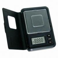 China Jewelry Pocket Scale, Used for Weight of Necklaces, Flavoring, Chemicals and More on sale