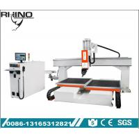 China Heavy Duty 5 Axis CNC Wood Router , Economic Type Industrial CNC Router Table on sale
