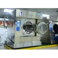 Best Front Loading Full Automatic Laundry Equipment 100kg 130kg Big Size For Laundry Plant wholesale