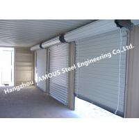 Best Residential Overhead Roll Up Industrial Steel Garage Doors With Fire Resistant wholesale