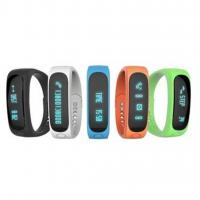 Best E02 Smart Wristband Waterproof Bluetooth Sport Smart Bracelet with sleep monitor and call reminding wholesale