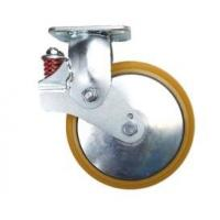 Best Tow 12 Inch Heavy Duty Locking Casters Plate Swivel Face Contact Brake wholesale