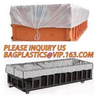 China Large durable drawstring dumpster container liner for garbage disposable,dump truck liner |plastic bed liners for dumpst on sale