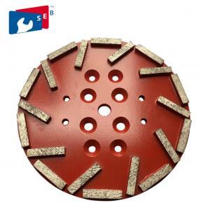 Best 115mm Swirly Shape Diamond Cup Wheel Apply To Stone Grinding Machine wholesale