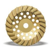 Best 100mm double row diamond abrasive stone cup grinding wheel for sale wholesale
