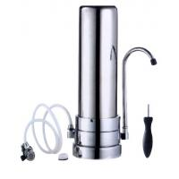 Best Bacteria Removal Stainless Steel Gravity Water Filter / Purifier , Perfect Steel Water Filter 5-  38°C Range wholesale