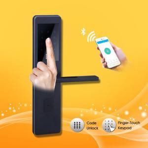 China High End Digital Electronic Fingerprint Door Lock , Home Security Door Locks on sale