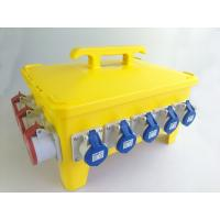 Best IP66 36 Ways Portable Distribution Box Yellow Load Master Overcurrent Protection wholesale