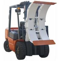Best White Forklift Truck Attachments Paper Roll Clamp With High Performance Hose wholesale
