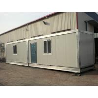 Best Two Story Prefabricated Container Houses , Flat Roof House wholesale