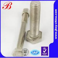 China stainless steel hex bolt and nut on sale