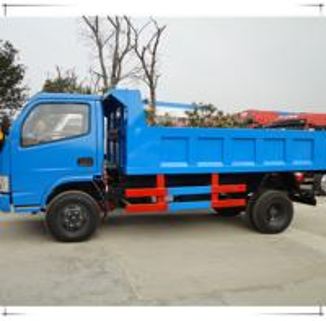 China hydraulic garbage dump truck 4 ton on sale