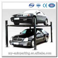 Best 3700kg Cheap and High Quality 4 Post Car Lift for Sale 4 Post Lift Mobile wholesale