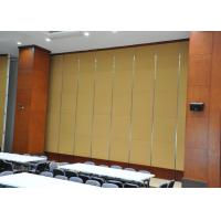Best Folding Acoustic Absorption Panels Slidng Door No Floor Track wholesale