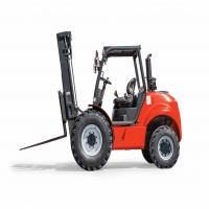 Best Diesel Engine Rough Terrain Forklift / Four Wheel Drive Forklift 1070mm Fork Length wholesale