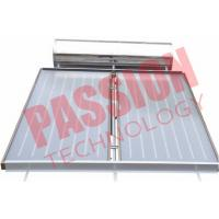 Best Pressurized Flat Plate Solar Water Heater Rooftop Intelligent Controller wholesale