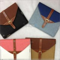 Best Briefcase Style Leather Case Cover Bag for Apple iPad 2 3 P-iPad3case050 wholesale