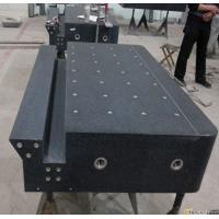 Best granite machine components,black granite surface plate with ODM wholesale