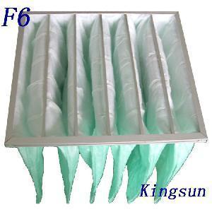 Best Medium Efficiency F6 Pocket Filter wholesale