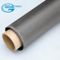 China electrically conductive carbon fiber fabric on sale